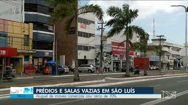 Aluguel de imóveis comerciais caiu cerca de 70% em São Luís - Segundo empresários do setor, uma situação totalmente ligada com as mudanças de rotina, causadas pela pandemia.