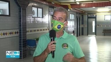 Coronel Feitosa propõe criação de auxílio para famílias que vivem em situação de pobreza - Candidato a prefeito do Recife pelo PSC participou de evento em universidade, na Zona Sul
