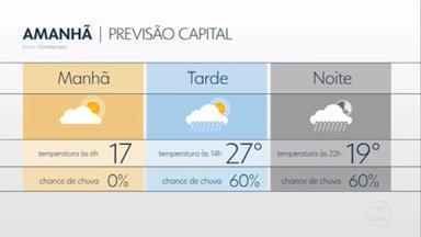 São Paulo pode ter menos chuva nas próximas horas - Nesta quarta-feira (21), pode ter mais chuva em São Paulo, mas de forma menos intensa do que nos dois últimos dias. No final de semana, a chuva deve apertar novamente.