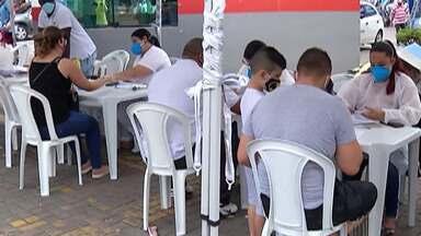 Ferraz de Vasconcelos faz teste de Covid-19 - Testes vão até o final de semana em dois pontos da cidade.