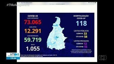 Covid-19: Tocantins passa a ter 73.065 casos da doença - Covid-19: Tocantins passa a ter 73.065 casos da doença