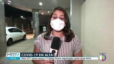 Covid-19: Montes Claros tem 2711 novos casos da doença - Número total de casos chega a 10.408, segundo a prefeitura.