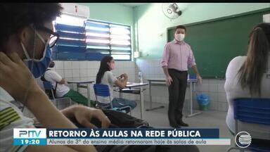 Escolas da rede estadual de ensino do Piauí retomam aulas presenciais para o 3° ano - Escolas da rede estadual de ensino do Piauí retomam aulas presenciais para o 3° ano