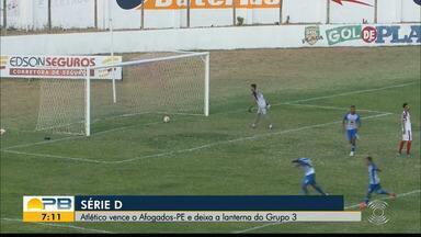 Atlético-PB 2 x 0 Afogados, pela rodada #9 da Série D - Time paraibano vence a equipe pernambucana no Perpetão