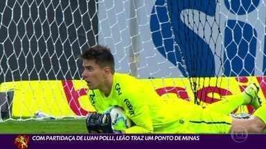 Com grande partida de Luan Polli, Sport arranca empate com Atlético-MG - Com grande partida de Luan Polli, Sport arranca empate com Atlético-MG