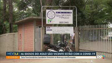46 idosos de asilo de Maringá estão com a Covid-19 - Seis funcionários também tiveram a doença confirmada.