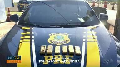 Polícia apreende seis quilos de ouro em Medianeira - O ouro estava em um carro que foi abordado pela Polícia Rodoviária Federal