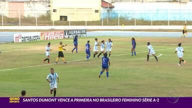 Santos Dumont vence a primeira no Brasileiro da Série A-2 - Equipe sergipana derrotou o Oratório do Amapá, na casa do adversário.