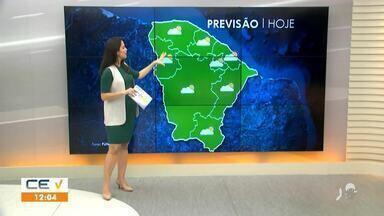 Veja a previsão do tempo pro interior do Estado - Saiba mais em g1.com.br/ce