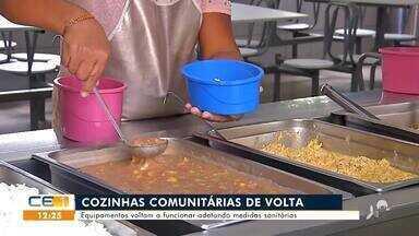 Cozinhas comunitárias voltam a funcionar em Juazeiro do Norte - Saiba mais em g1.com.br/ce