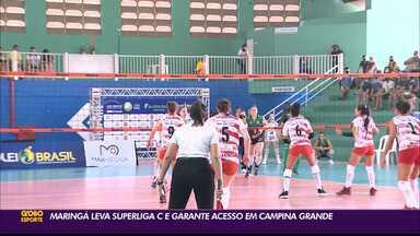 Maringá fatura Superliga C, que estava sendo disputada em Campina Grande - Torneio vinha acontecendo desde a última quarta-feira, na Rainha da Borborema