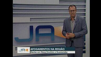 Mortes em por afogamento em Nova Erechim e Guaraciaba - Mortes em por afogamento em Nova Erechim e Guaraciaba