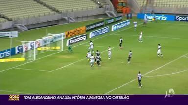 Tom Alexandrino analisa vitória do Ceará contra o Coritiba, na Arena Castelão - Tom Alexandrino analisa vitória do Ceará contra o Coritiba, na Arena Castelão
