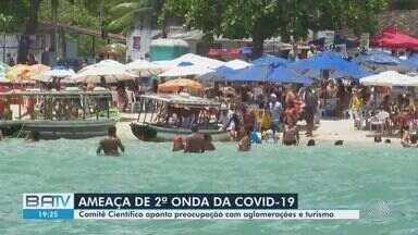 Comitê Científico do Consórcio NE faz alerta para segunda de Covid-19 no estado - Entidade revelou preocupação com aglomerações e turismo na Bahia.