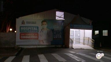 Hospital de Campanha para tratar pacientes com Covid é desativado em Itapetininga - Foi desativado nesta segunda-feira (26) o Hospital de Campanha montado para tratar pacientes com Covid em Itapetininga (SP).