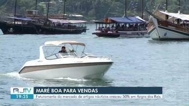 Retomada do turismo ajuda a reestabelecer economia do setor náutico em Angra dos Reis - Lojas de artigos náuticos registraram crescimento de 50% nas vendas.