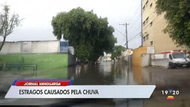 Temporal provocou estragos em São José dos Campos - Confira a reportagem exibida pelo Jornal Vanguarda.