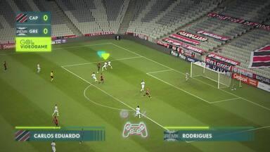 Gol de Vídeo Game - Atlhetico Paranaense - Gol de Vídeo Game - Atlhetico Paranaense