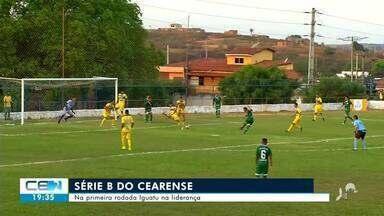 Iguatu na liderança da série B do Cearense - Saiba mais no g1.com.br/ce