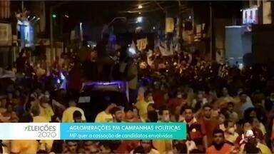 Ministério Público quer que candidatos responsáveis por aglomerações durante campanha seja - Saiba mais no g1.com.br/ce