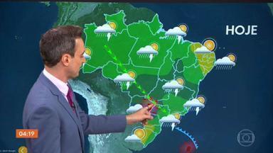 Meteorologia alerta para temporais em SP, RO, MS, GO, MG e PR nesta quinta-feira - Veja como fica o tempo em todo o país.