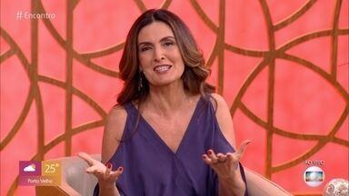 Fátima Bernardes parabeniza Tiago Leifert e Diana Garbin pelo nascimento de Lua - Filha do casal nasceu nesta quinta-feira, 29 de outubro