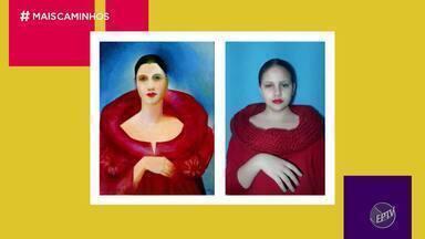 Professora de Campinas (SP) usa fotos para fazer releituras de pinturas famosas - Cris Ikeda conversou Fabiana Iartelli, uma professora de Campinas, que junto dos alunos usou a criatividade para recriar obras de pintores renomados com fotografias.