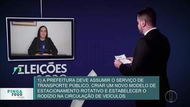 Confira o quadro 'Pinga Fogo' com candidatos à Prefeitura de Nova Friburgo, no RJ - Quinta parte do quadro especial de eleições teve a participação dos candidatos Lucidarlen Novaes (PMB) e Dr. Luis Fernando (PROS).