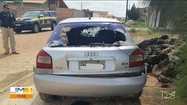 Quatro mortes em acidentes nas BRs 316 e 135 no Maranhão - O fim de semana foi violento nas rodovias federais que cortam o Maranhão.