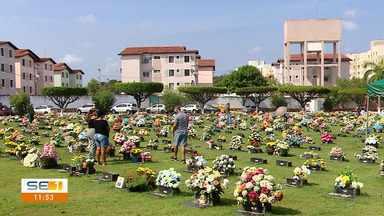 Visitação a cemitérios marca o Dia de Finados na capital sergipana - Visitação a cemitérios marca o Dia de Finados na capital sergipana.
