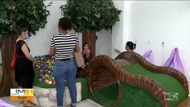 Shopping da Criança leva lazer e saúde para os pequenos em São Luís - O local oferece atividades que ajudam no desenvolvimento físico, cognitivo e emocional das crianças.