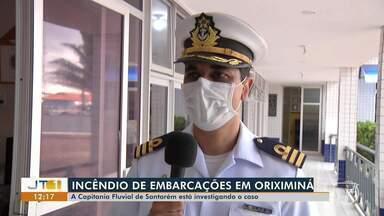 Capitanhia Fluvial de Santarém investiga explosão de embarcação - Acidente aconteceu em Oriximiná.