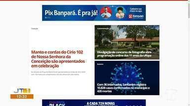 Confira os principais destaques do G1 Santarém e região desta segunda-feira, 2 - Acesse o maior portal de notícias da região e fique bem informado.