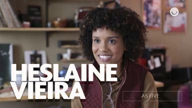 Confira entrevista exclusiva com Heslaine Vieira sobre As Five - Atriz conta como foi gravar a série e fala sobre sua personagem Ellen!