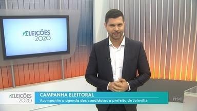 Acompanhe a agenda dos candidatos a prefeito de Joinville - Acompanhe a agenda dos candidatos a prefeito de Joinville