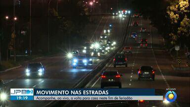 Movimento nas estradas aumentou por causa do feriado - Mudanças nos radares em rodovias também foi destaque.