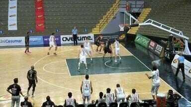 Bauru vence o Franca e fica em primeiro no quadrangular do Paulista de basquete - O Bauru Basket chega à semifinal do Campeonato Paulista invicto. A equipe venceu os três jogos do quadrangular no ginásio Panela de Pressão contra Osasco, Pinheiros e Franca.