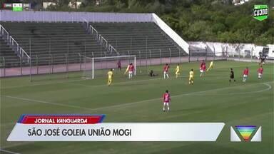 São José goleia União Mogi pela Segundona - Águia lidera o grupo seis.