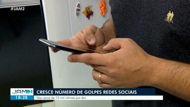Crescem casos de clonagem de dados nas redes sociais - Mais de 15 mil foram vítimas este ano