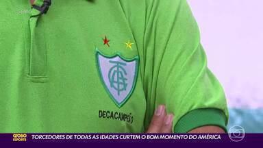 Possibilidade de fazer história na Copa do Brasil empolga torcedores do América - Possibilidade de fazer história na Copa do Brasil empolga torcedores do América