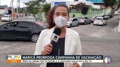 Campanha Nacional de Multivacinação é prorrogada em Maricá, no RJ - Município não bateu a meta. Vacinação segue até o dia 13 de novembro.