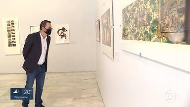 Museus mineiros voltam a funcionar após quase oito meses sem visitantes - Um deles é o Palácio das Artes, na capital, que está com exposições inéditas e gratuitas. Há restrição de público nas galerias, entre outras medidas de prevenção ao coronavírus.