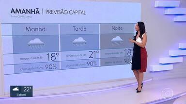 Previsão é de friozinho e tempo chuvoso em BH - Veja na previsão do tempo para a capital e todo o estado.
