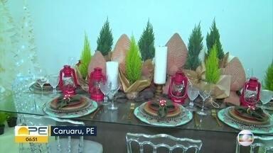 Caruaru recebe feira natalina com artigos de decoração e pinheiros naturais - Evento reúne diversas opções de decoração