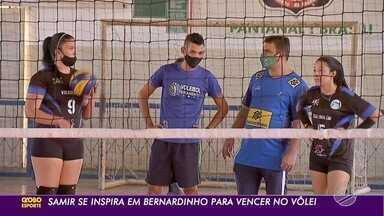 Técnico de MS se inspira em Bernardinho para também vencer no vôlei - Samir é treinador das seleções de base de Mato Grosso do Sul