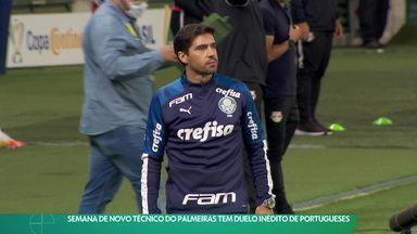 Semana de novo técnico do Palmeiras tem duelo inédito de portugueses - Semana de novo técnico do Palmeiras tem duelo inédito de portugueses