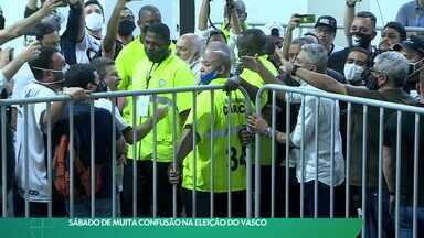 Sábado de muita confusão na eleição do Vasco - Sábado de muita confusão na eleição do Vasco