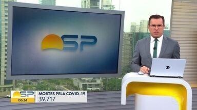 Dados da Covid-19 em SP não são atualizados desde quinta-feira - Último dado mostra que quase 40 mil pessoas morreram pela doença.