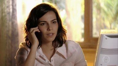 Mila conta a Reinaldo que Natália namora um homem mais novo - Doralice dá forças para Juliano, que está triste por causa da situação com a namorada