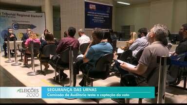 TRE divulga detalhes sobre os cuidados para garantir a segurança das urnas - Reunião definiu estratégias a serem adotadas no dia da eleição.